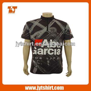 f4687dc2 China Custom Zipper Collar Sublimated Polo Shirts Mulitcolored Polo Shirts