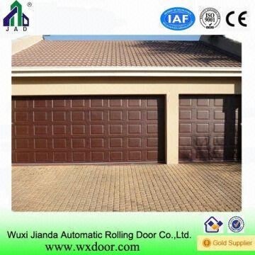Automatic Upward Sliding Single Double Wooden Car Garage