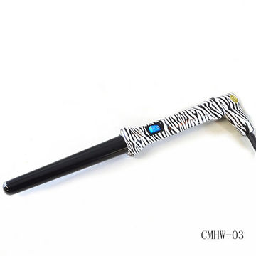 Zebra Print Hair Curling Wand Hair Curling Iron Hair Styling Tools
