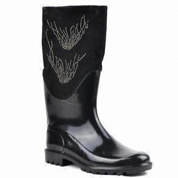 Girls' Beautiful Rain Boots with Stylish Design, Comfortable ...