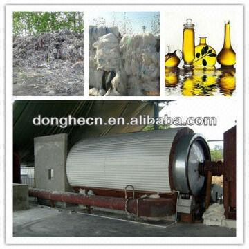 Professional Manufacturer Waste Plastic Pyrolysis Fuel Oil