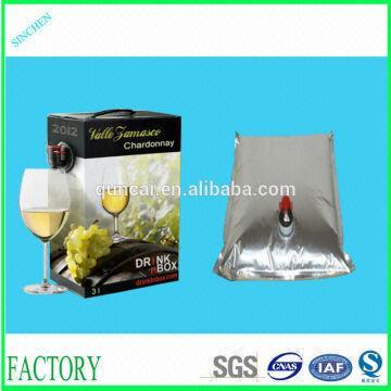 China 1l 220l Wine Spout Bag