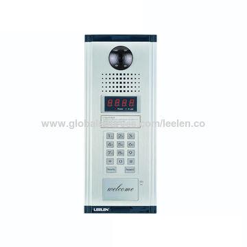 Door Entry Phoneintercom System With Picture Memory And Burglar
