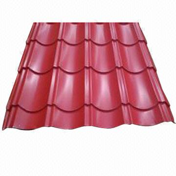 China Color Coated Corrugated Metal Roofing Sheets