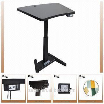 China Single Leg Electric Height Adjustable Office Desk