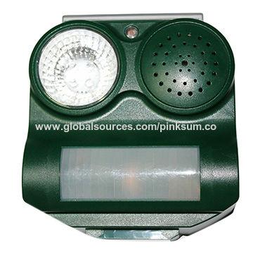 Solar sound bird repellent | Global Sources