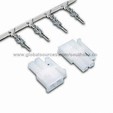 B1043172853 automotive wiring harness connector with lock type 2 pin terminal wiring harness connector pins at gsmx.co