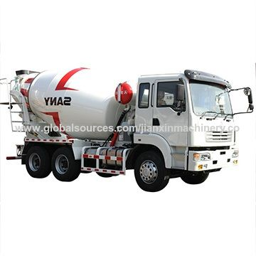B1154874853 self loading programmable diagram of concrete cement mixer truck