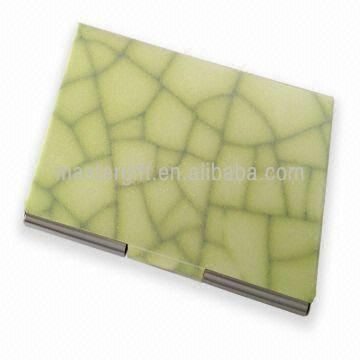 Stylish give away gift with marble patterns metal business card hong kong sar stylish give away gift with marble patterns metal business card holder colourmoves