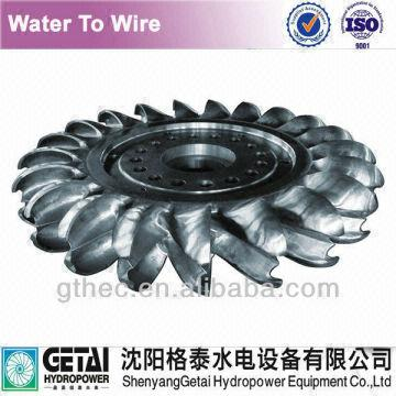 China Anti Cavitation EPC Service Pelton Wheel Turbine