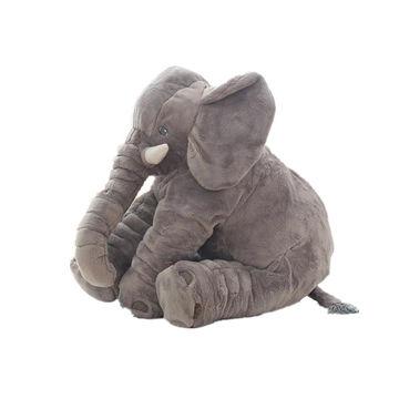 China Soft Elephant Plush Sleeping Elephant Toys From Wuhan