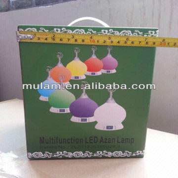 The Azan Clock And Salat Led World With First Lamp Time In Ybf6y7gv