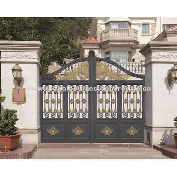 2015 New Model Design Of Yard Gate With Good Craft And Top Quality