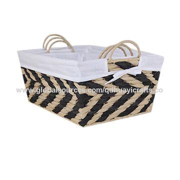 Paper Rope Storage Basket China Paper Rope Storage Basket