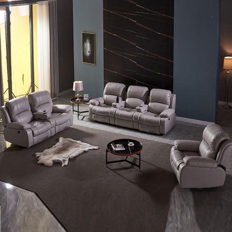 Recliner Leather Sofa Home, Modern Recliner Sofa Design