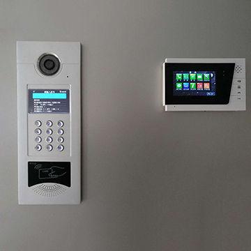 China Apartment Intercom Tcp Video Max Support 9999 Indoor Monitors