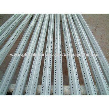 china universal slotted angle iron shelf from bazhou wholesaler