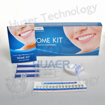 High Quality Home Use Teeth Whitening Kit With Mini Led Light
