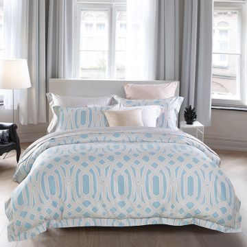 ... China 400TC Pima Cotton Bedding Sets Satin Cotton Beddi