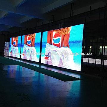 China Super clear LED TV panel RGB SMD2121 indoor p4 custom
