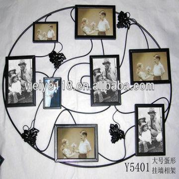 Egg-shaped Wall-mounted Photo Frames Large Size/ Home Decor/photo ...