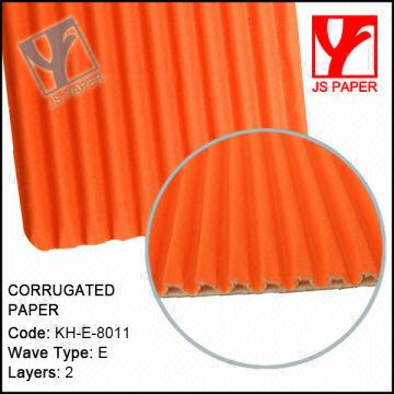 1. Orange color corrugated cardboard sheet 2. Factory with 10 years ...
