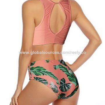 782ca3937248 China Los bikinis del triángulo del poliéster SS2018 de las mujeres ...