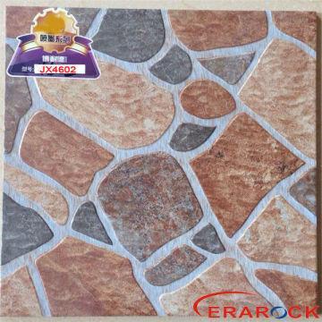 China 400x400mm On Cobblestone Outdoor Ceramic Tile