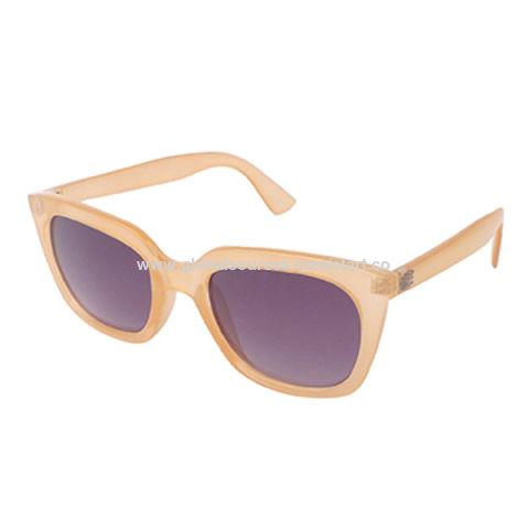 Las gafas de sol de moda con el marco plástico, 400 lentes ULTRAVIOLETA, pedidos del OEM son agradables, CE, aprobado por la FDA