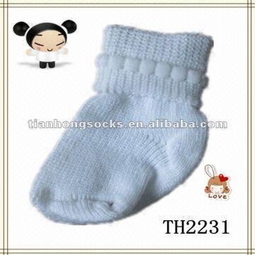 Wholesale New Design Plain White Baby Socks Global Sources