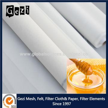 China 50 micron nylon mesh, white, customer size