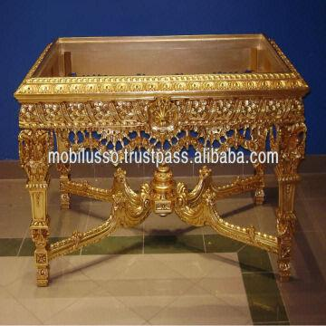 Egypt French Clic Hand Craved Center Table Antique Reproduction Furniture