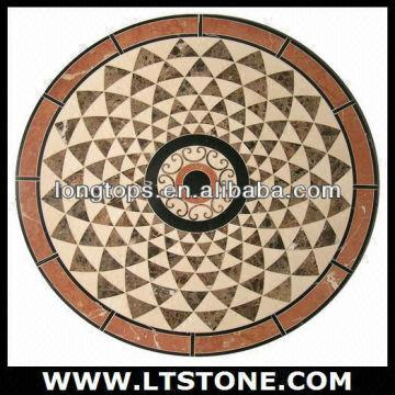 marble natural decorative stone sell tiles floor water medallion jet