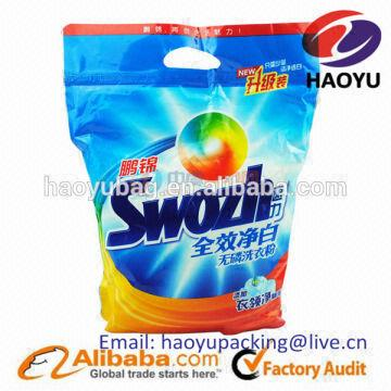 Plastic Laundry Detergent Bag Powder Bags