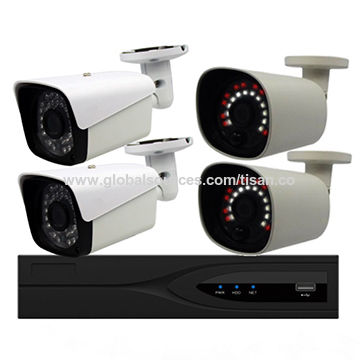 4CH 1080p Face Detection Alarm Camera
