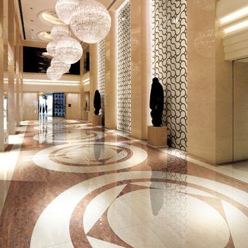 Hotel Lobby Wall Floor Porcelain Tiles Measures 600 X