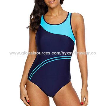 c2e0fdbe7226e China Women's chlorine-resistant swimwear, one piece swimsuit on ...