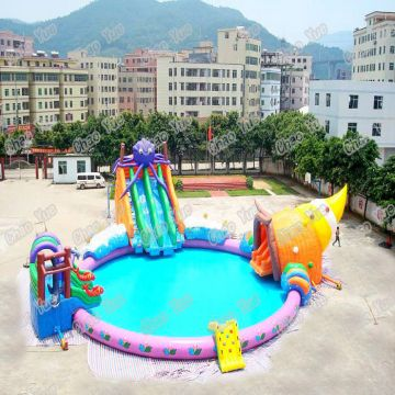 Inflatable poolinflatable water parkinflatable swimming poolpool