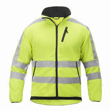 China Yellow Fleece Jacket from Fuzhou Manufacturer: Fuzhou H&f ...