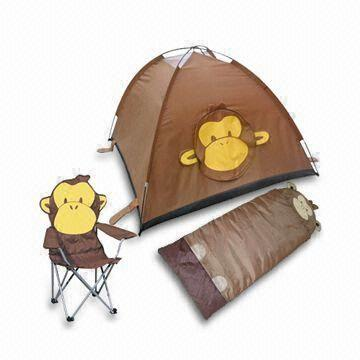 China 170T Polyester Kids Tent Set with Sleeping Bag Folding Chair and 5.9mm Fiberglass  sc 1 st  Global Sources & China 170T Polyester Kids Tent Set with Sleeping Bag Folding ...
