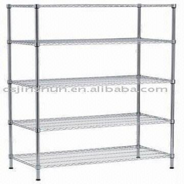 Wire Rack Display Stands | 5 Layer Heavy Duty Display Stand Shelf Shelving Wire Shelf Display
