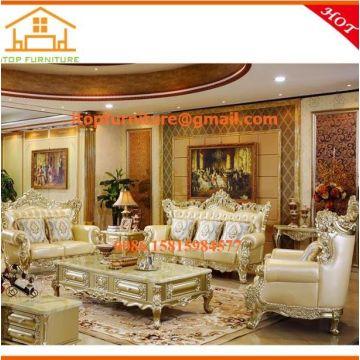 China Living Room Furniture Vintage American Style Sofa Set