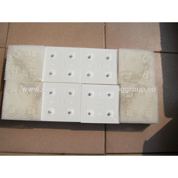 """China Bristle, 1.6"""" Poly - Round Foot - White, Part 92910002 for S91,S/GT-52XX/72XX,for GTxL Gerber Cutter"""