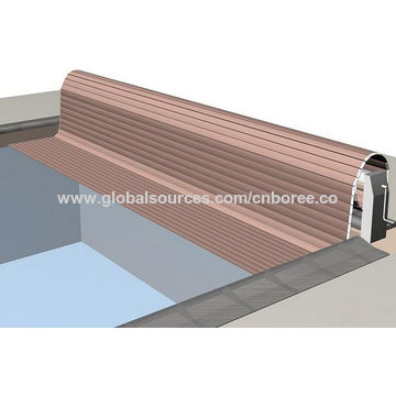 ... China Automatic Hard Swimming Pool Cover With Factory Price