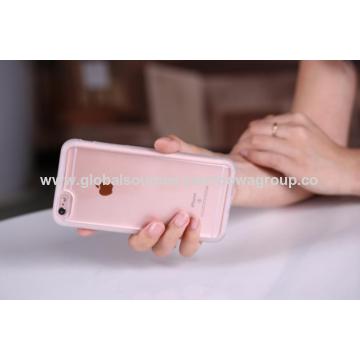 China TPU phone sticky epoxy case, can stick to flat glass and mirror