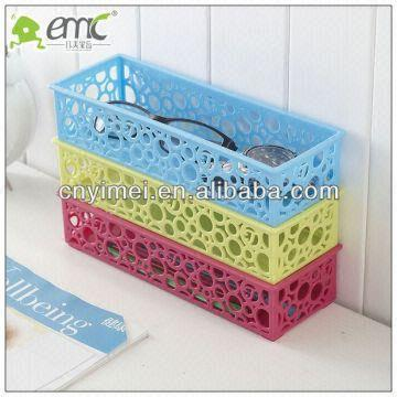 China Pp Material Small Plastic Storage Baskets