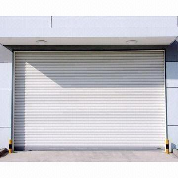 China Galvanized Steel Roll Up Door With Or Without Motor