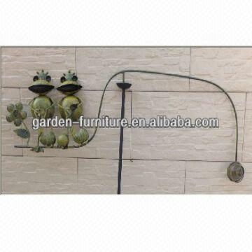 Garden Wind Balancer 2 Frogs Balancing Buddies Yard Art 32 5x2 75x58