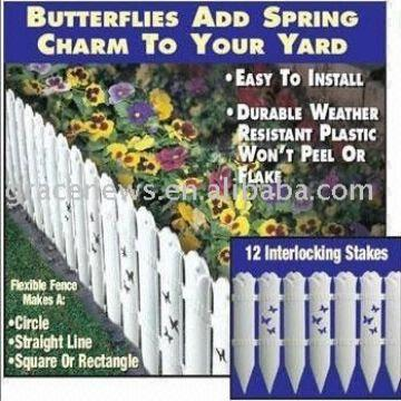 China Butterfly Garden Fence