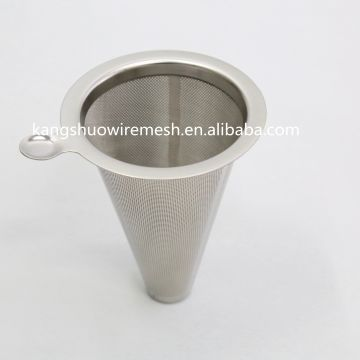China Reusable Stainless Steel Coffee Filter Ultra Fine